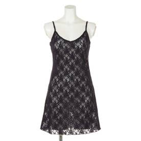 【BED&BREAKFAST】LILY LACE Camisole Dress (NAVY)