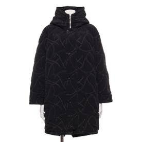 [GREED]Quilting Embroidery フードコート (BLACK)