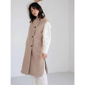 [GREED]Super140s Wool Seep ベストコート (BEIGE)