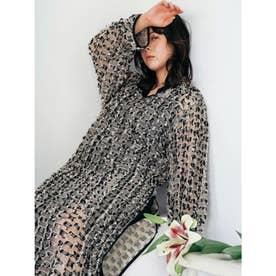 [GREED]Stripe Cut Jacquard ドレス (OTHER)