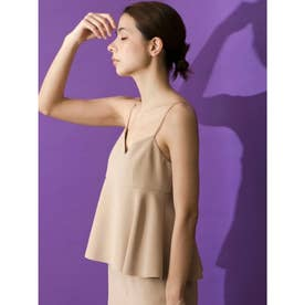 [GREED]Double Stretch Cloth Camisole (BEIGE)
