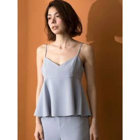 [GREED]Double Stretch Cloth Camisole (LtBLUE)