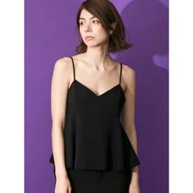 [GREED]Double Stretch Cloth Camisole (BLACK)