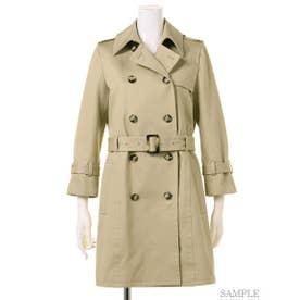 【BED&BREAKFAST】Standard Short Trench Coat (BEIGE)