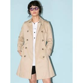 【BED&BREAKFAST】Standard Long Trench Coat (BEIGE)
