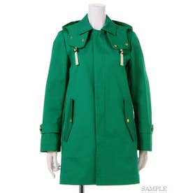 【BED&BREAKFAST】Standard Stand Fall Collar Coat (GREEN)