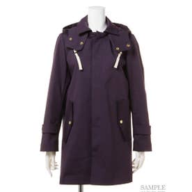 【BED&BREAKFAST】Standard Stand Fall Collar Coat (NAVY)