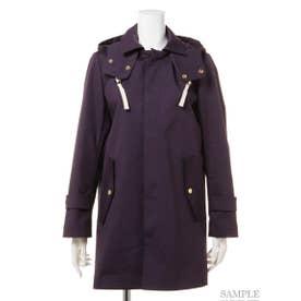 【BED&BREAKFAST】Standard Stand Fall Collar Coat (NAVY)