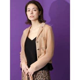 [GREED]Sheer Nylon Jacket (BEIGE)
