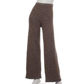 [BED&BREAKFAST]Silk Nep Wool ニットパンツ (BROWN)