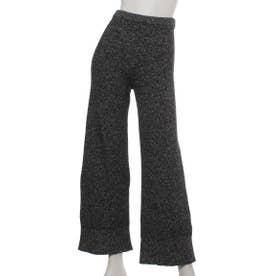 [BED&BREAKFAST]Silk Nep Wool ニットパンツ (BLACK)