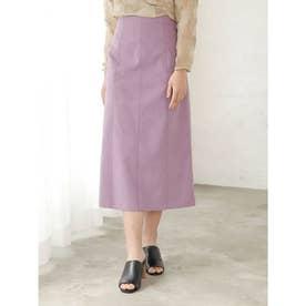 [GREED]SOFT SUEDE スカート (LtPURPLE)