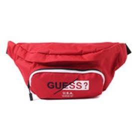 LOGO WAIST BAG (RED)