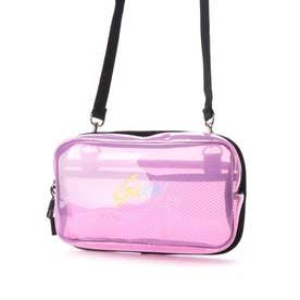 LOGO CLEAR SHOULDER BAG (PINK)