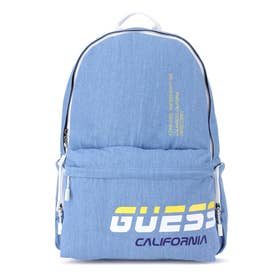 Logo Denim Backpack (BLUE)