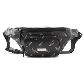 ORIGINALS All Over Print Faux Leather Bum Bag (BLACK)