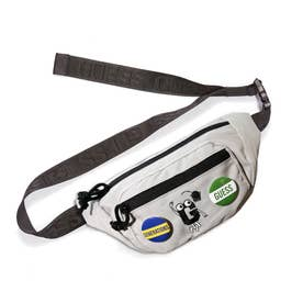 [x GENERATIONS] LOGO BUM BAG (GREY)