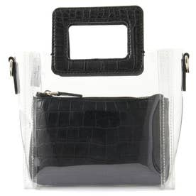 TRIPLE G Small Clear Tote (CLEAR)