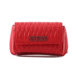 BRINKLEY Quilted Crossbody Belt Bag (RED)