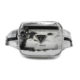 SAN DIEGO Metallic Crossbody Belt Bag (SILVER)