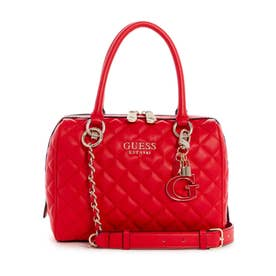 MELISE BOX SATCHEL (RED)
