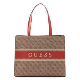 MONIQUE 4G Logo Tote (ORANGE)