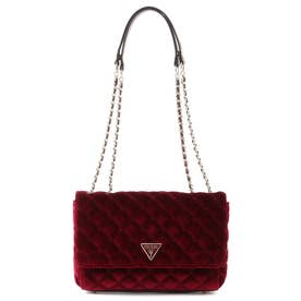 CESSILY Quilted Micro Mini Crossbody Flap (MERLOT)