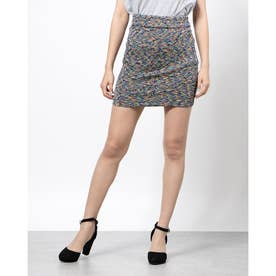 KATIA MINI SKIRT (JET BLACK MULTI)