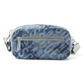 MANHATTAN Crossbody Belt Bag (DENIM GUESS)