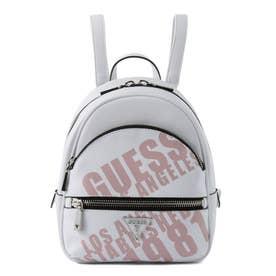 MANHATTAN Logo Backpack (WHITE)