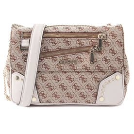FRANKIE Convertible Crossbody Flap (BROWN LOGO)