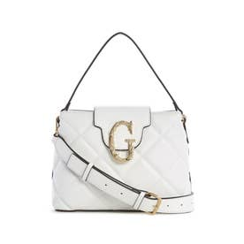 Roseburg Quilted Small Satchel (WHITE)