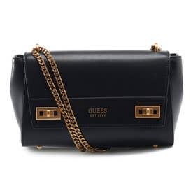 KATEY Flap Shoulder Bag (BLACK)