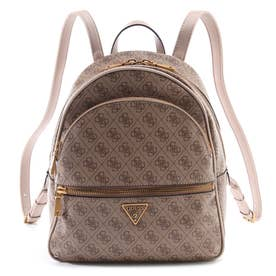 MANHATTAN Large Backpack (LATTE LOGO)