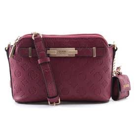 BEA Double Zip Crossbody Bag (PLUM)