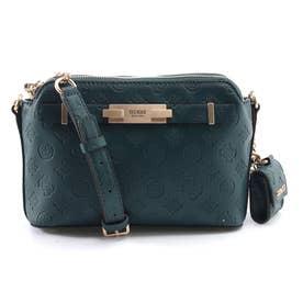 BEA Double Zip Crossbody Bag (PINE)