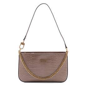 KATEY Mini Top Zip Shoulder Bag (LIGHT RUM)