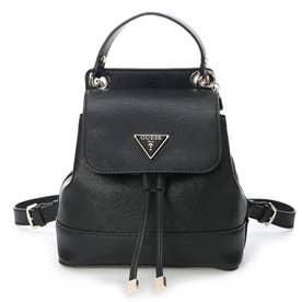 CORDELIA Flap Backpack (BLACK)