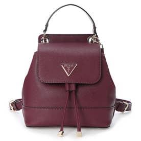 CORDELIA Flap Backpack (BURGUNDY)