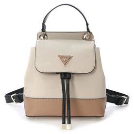 CORDELIA Flap Backpack (NATURAL MULTI)