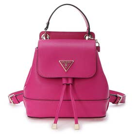 CORDELIA Flap Backpack (FUCHSIA)