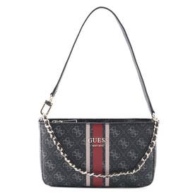VIKKY Top Zip Shoulder Bag (COAL)