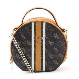 VIKKY Circle Crossbody Bag (BROWN)