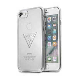 TRIANGLE LOGO TRANSPARENT TPU CASE for iPhone 8 (SILVER)【JAPAN EXCLUSIVE ITEM】