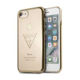 TRIANGLE LOGO TRANSPARENT TPU CASE for iPhone 8 (GOLD)【JAPAN EXCLUSIVE ITEM】