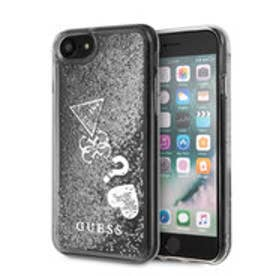 HEARTS GLITTER CASE for iPhone 8 (SILVER) (SILVER)