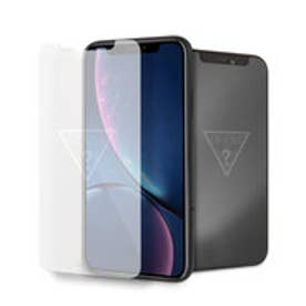 INVISIBLE TRIANGLE LOGO TEMPERED GLASS SCREEN PROTECTOR for iPhone XR (INVISIBLE LOGO)