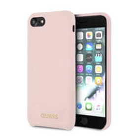 GOLD LOGO SILICONE CASE for iPhone 8 (LIGHT PINK) (LIGHT PINK)