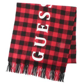 Logo Buffalo Check  Muffler (RED)