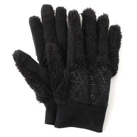 Triangle Logo Boa Glove (タッチパネル対応) (BLACK)